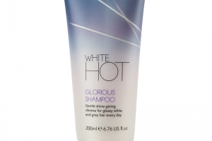 White hot brilliant shampoo