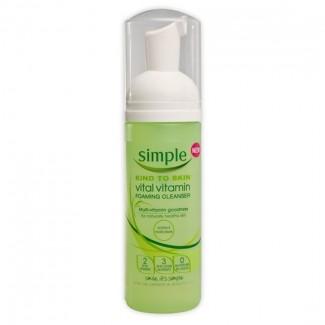 Simple Kind To Skin Vital Vitamin Foaming Cleanser