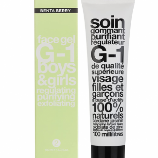 Benta Berry G-1 Exfoliating Facial Cleanser for Boys & Girls