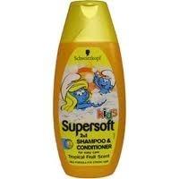 Schwarzkopf Supersoft Kids 2in1 Shampoo & Conditioner - Tropical Fruit