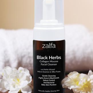 Zalfa Black Herbs Facial Foam