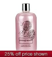 M&S Natures Extracts Warm Pomegranate Cream Bath
