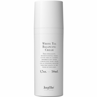 JorgObé White Tea Balancing Cream