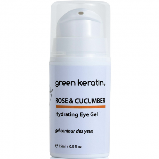 Green Keratin Rose & Cucumber Hydrating Eye Gel
