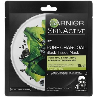 Garnier Skin Active Pure Charcoal Black Tissue Mask