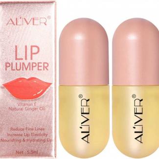 Lip Balm, Lips Enhancer, Liquid Lipstick, Plant Extracts Lip Gloss Lip Plumping Balma