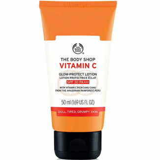 The Body Shop Vitamin C Glow-Protect Lotion SPF30