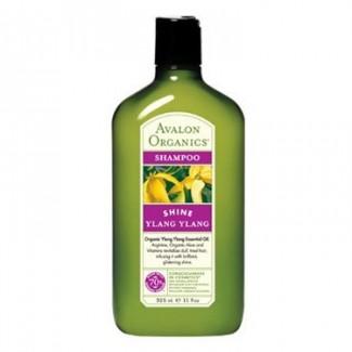 Avalon Organics Ylang Ylang Glistening Shampoo