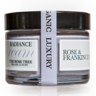The Rose Tree Radiance Cream with Rose & Frankincense