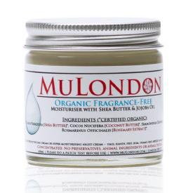 MuLondon Organic Fragrance-Free Face Moisturiser