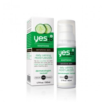 Yes To Cucumbers Soothing Daily Calming Facial Moisturizer