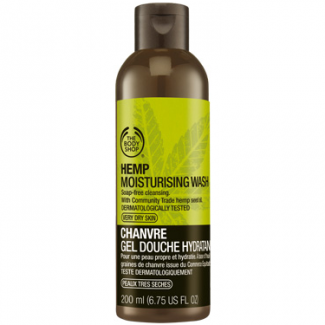 The Body Shop Hemp Moisturising Wash