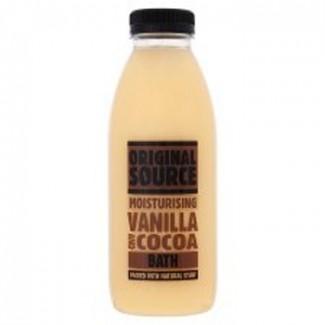 Cocoa and Vanilla Bath