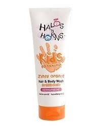 Halos n Horns Zingy Orange Hair & Body Wash