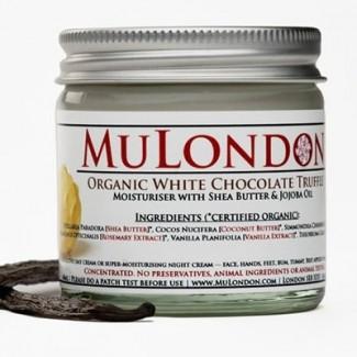 MuLondon Organic White Chocolate Truffle Face Moisturiser