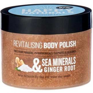 Happy Naturals Sea Minerals & Ginger Root Revitalising Body Polish