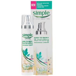 Simple Kind to Skin + Illuminating Radiance Cream