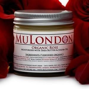 MuLondon Organic Rose, Rosehip & Rosemary Face Moisturiser