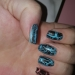 Opi crackle, Itsy Nails DuraPro Gel Effect, In Deep and Bohrmian