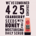 Original Source Cranberry & Honey Daily Scrub
