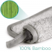 Magnitone WipeOut! SuperNaturals Bamboo MicroFibre Cleansing Cloth 2 Pack Grey