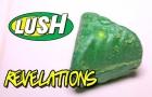 LUSH - REVELATIONS Bath Oil - DEMO & REVIEW  Underwater View Lush UK